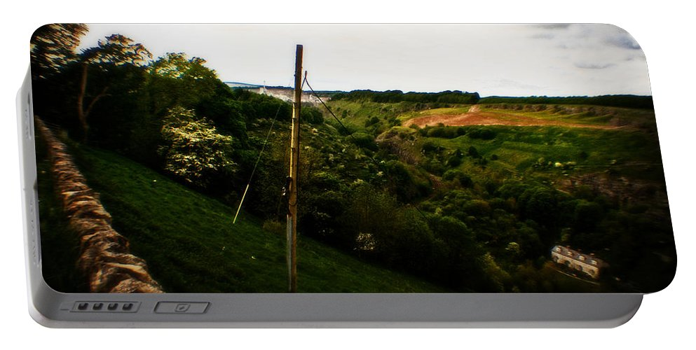 Bakewell Portable Battery Charger featuring the photograph Bakewell Country by Doc Braham
