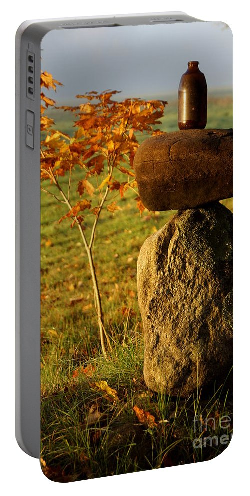 Newhampshire Portable Battery Charger featuring the photograph Balance by Kerri Mortenson