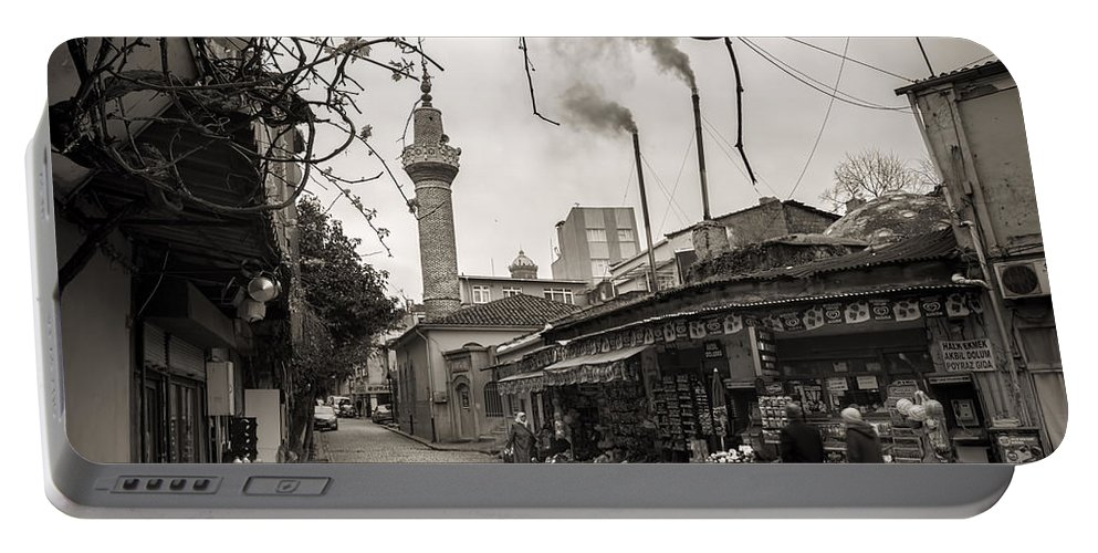 Balat Portable Battery Charger featuring the photograph Balat Neighborhood In Istanbul by For Ninety One Days