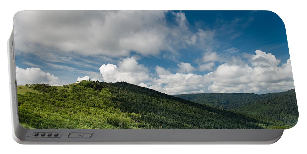Lupine Portable Battery Charger featuring the photograph Bald Hills In Spring by Greg Nyquist