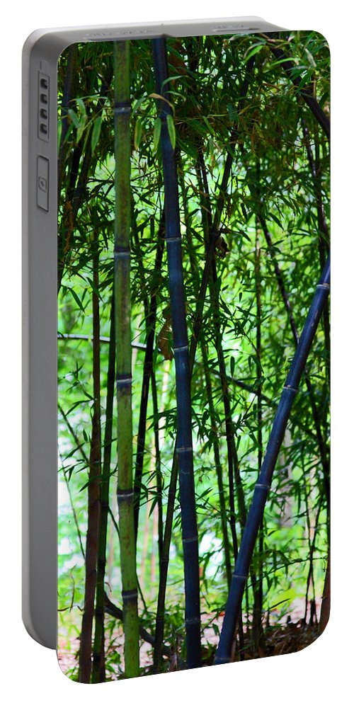 Bamboo Portable Battery Charger featuring the photograph Bamboo by Carolyn Stagger Cokley