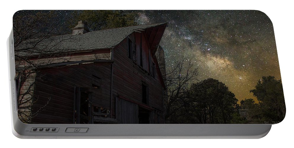 Portable Battery Charger featuring the photograph Barn IIi by Aaron J Groen