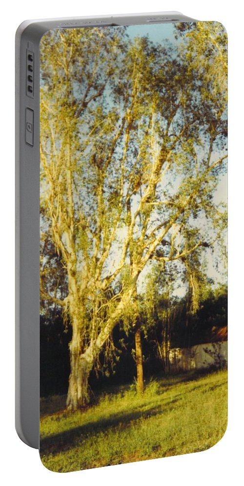 Small Barn Portable Battery Charger featuring the photograph Barn Landscape by Robert Floyd