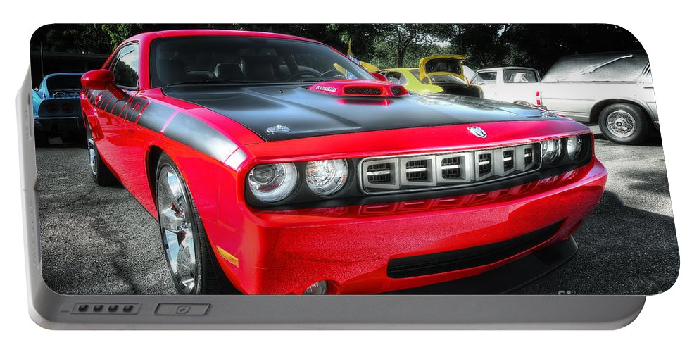 2014 Barracuda Portable Battery Charger featuring the photograph Barracuda by David B Kawchak Custom Classic Photography