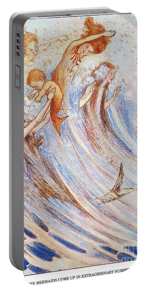 20th Century Portable Battery Charger featuring the photograph Barrie: Peter Pan by Granger