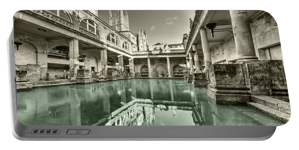 Bath Portable Battery Charger featuring the photograph Bath Of Bath by Rob Hawkins