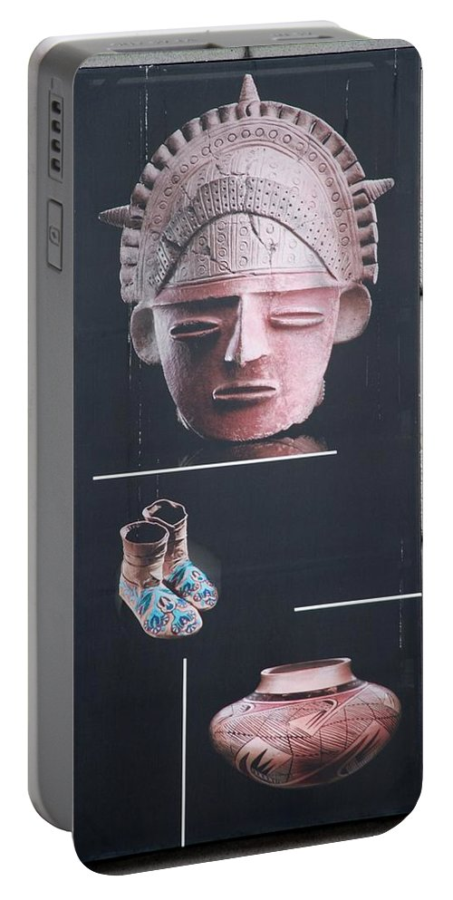 Face Masks Portable Battery Charger featuring the photograph Battery Park Art by Rob Hans