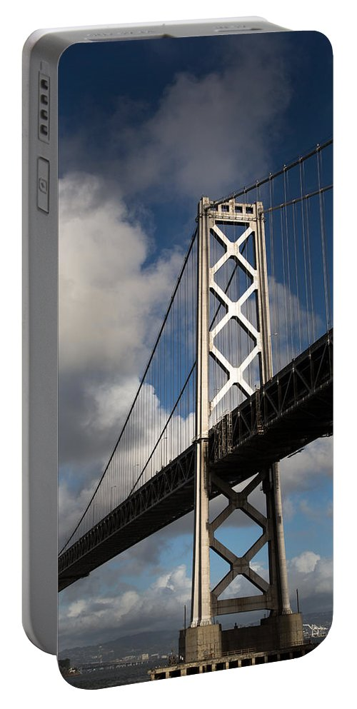 Bay Portable Battery Charger featuring the photograph Bay Bridge After The Storm by John Daly