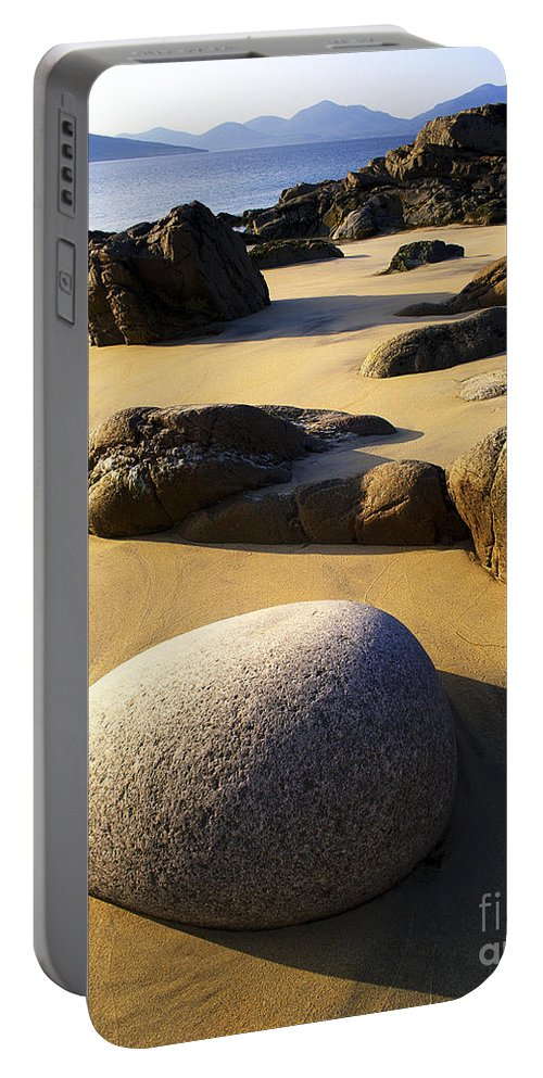 European Portable Battery Charger featuring the photograph Beach Of Gold by Edmund Nagele
