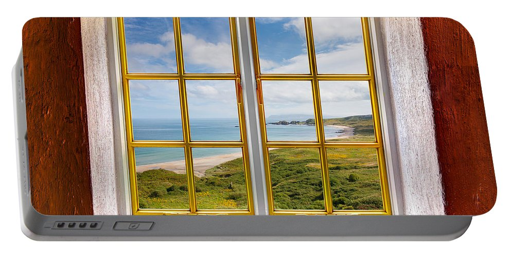 Architecture Portable Battery Charger featuring the photograph Beach View by Semmick Photo