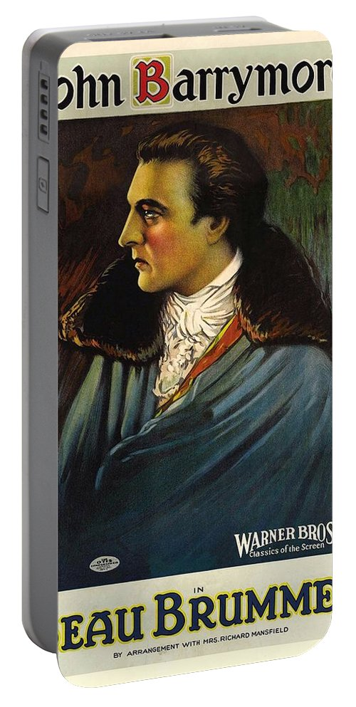 Beau Brummel Portable Battery Charger featuring the photograph Beau Brummel by Movie Poster Prints