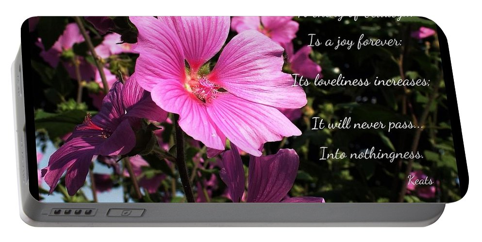 Blossoms Portable Battery Charger featuring the photograph Beautiful Blossom 2 by Joan-Violet Stretch
