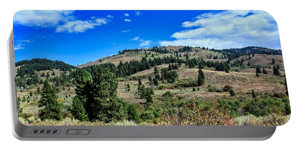 Landscape Portable Battery Charger featuring the photograph Beautiful Hillside by Robert Bales