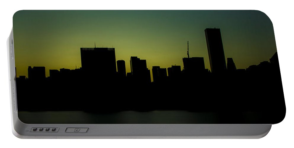 Citicorp Portable Battery Charger featuring the photograph Beauty Of The Night by Theodore Jones