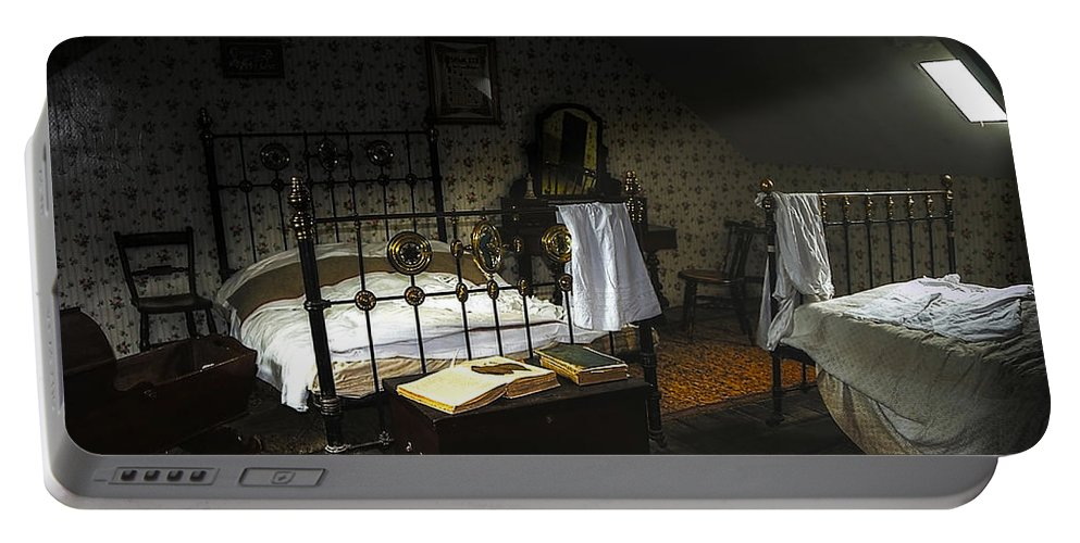 Beamish Portable Battery Charger featuring the photograph Bedroom by Svetlana Sewell