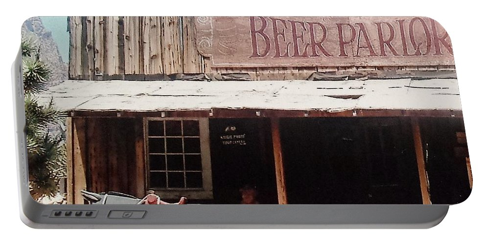 Beer Portable Battery Charger featuring the photograph Beer Parlor by Lisa Byrne