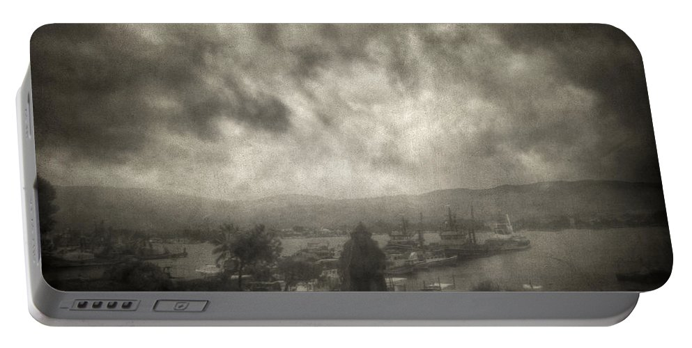 Fog Portable Battery Charger featuring the photograph Before Storm by Zapista