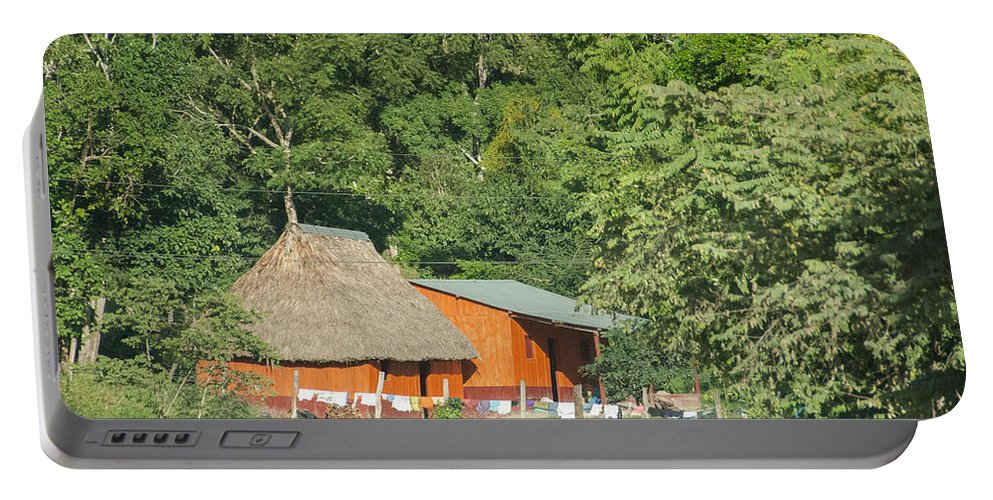 Belize Portable Battery Charger featuring the photograph Belize House by Michael Bessler