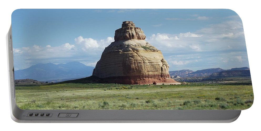 Bell Rock Portable Battery Charger featuring the photograph Bell Rock by Stan Scott