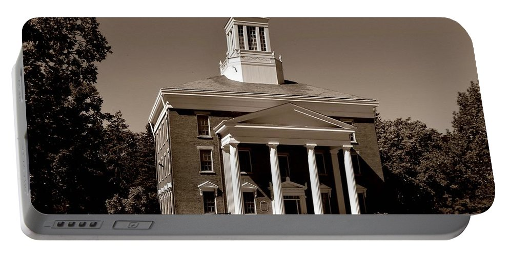 College Portable Battery Charger featuring the photograph Beloit College by Deena Stoddard