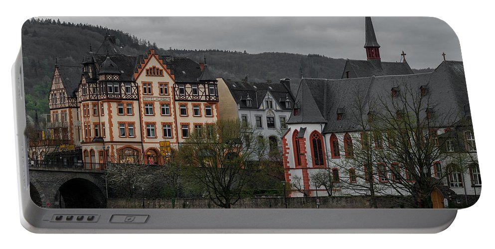 Ancient Portable Battery Charger featuring the photograph Bernkastel-kues by TouTouke A Y
