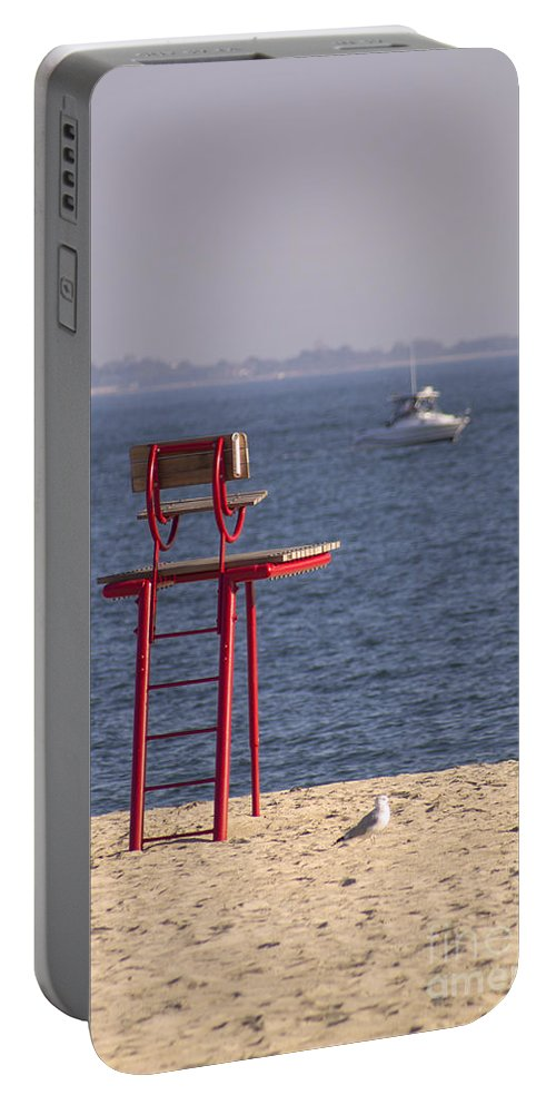 Lifeguard Portable Battery Charger featuring the photograph Better Days Ahead by Joe Geraci