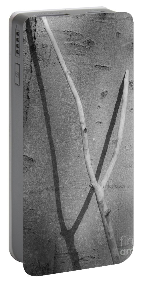 Between Black And White Portable Battery Charger featuring the photograph Between Black And White-09 by Casper Cammeraat