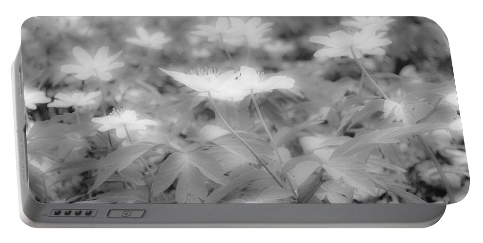 Between Black And White Portable Battery Charger featuring the photograph Between Black And White-14 by Casper Cammeraat