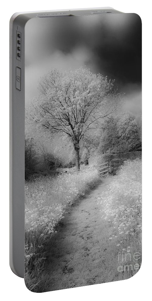Between Black And White Portable Battery Charger featuring the photograph Between Black And White-23 by Casper Cammeraat
