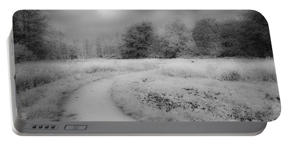 Between Black And White Portable Battery Charger featuring the photograph Between Black And White-25 by Casper Cammeraat