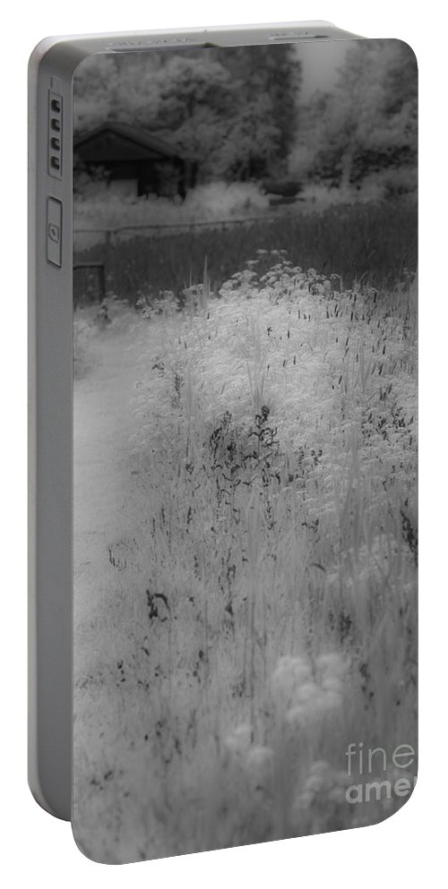 Between Black And White Portable Battery Charger featuring the photograph Between Black And White-28 by Casper Cammeraat
