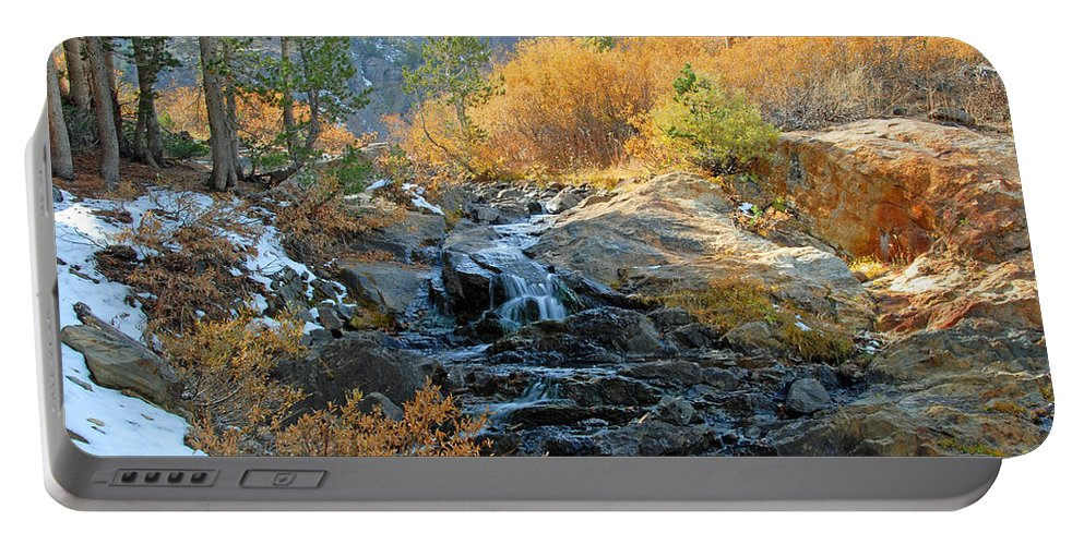 Fall Portable Battery Charger featuring the photograph Between The Virginias by Lynn Bauer