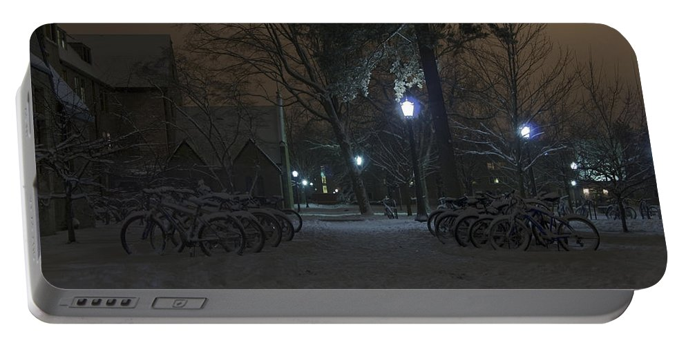 Bicycle Portable Battery Charger featuring the photograph Bicycle Barnyard by John Stephens