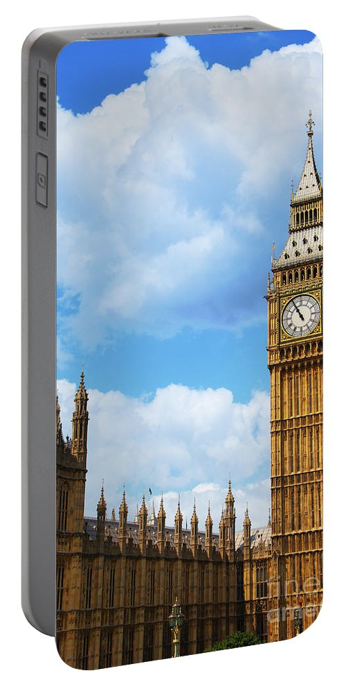 Big Ben Portable Battery Charger featuring the photograph Big Ben by Mariola Bitner