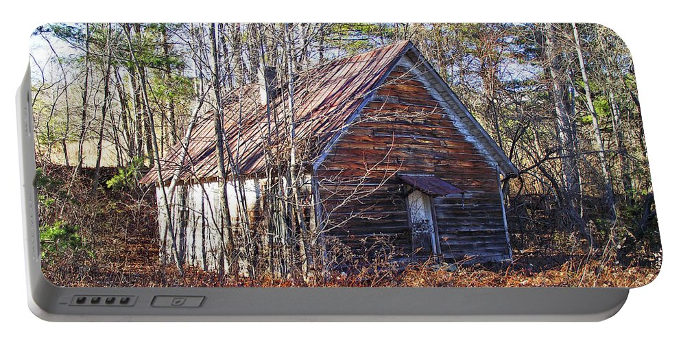 Old Church Portable Battery Charger featuring the photograph Big Pisgah Baptist Church Nc by Duane McCullough