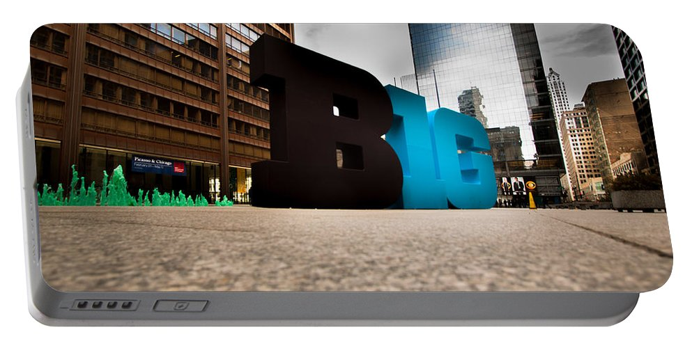 Portable Battery Charger featuring the photograph BIG by Sue Conwell