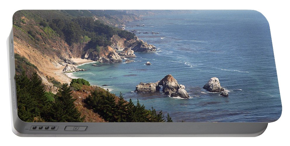 Big Sur Portable Battery Charger featuring the photograph Big Sur by Dayne Reast