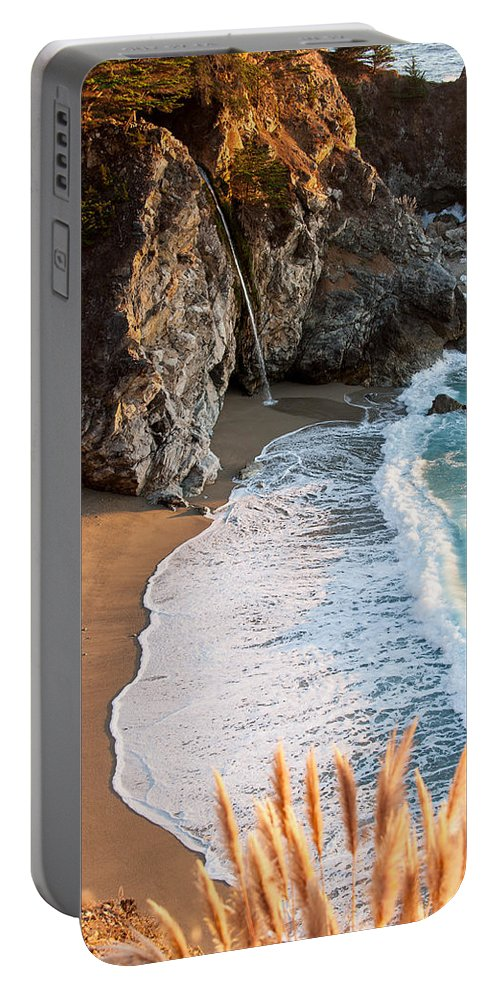 Big Sur Portable Battery Charger featuring the photograph Big Sur by Wim Slootweg