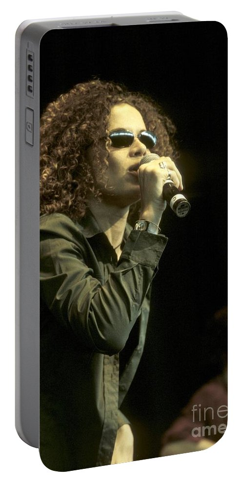 Pictures For Sale Portable Battery Charger featuring the photograph Billie Myers by Concert Photos