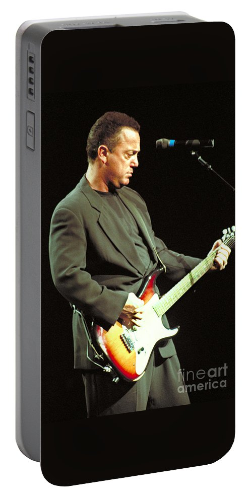 Billy Joel Portable Battery Charger featuring the photograph Billy Joel-33 by Timothy Bischoff