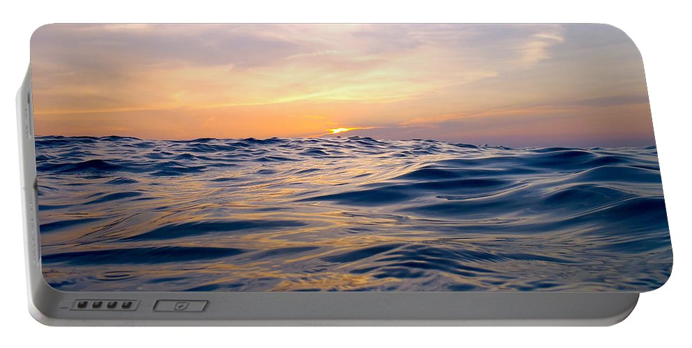 Bimini Portable Battery Charger featuring the photograph Bimini Sunset by Carey Chen