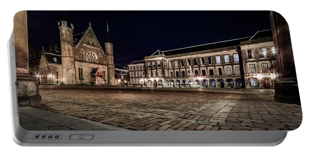 Old Portable Battery Charger featuring the photograph Binnenhof by Mihai Andritoiu