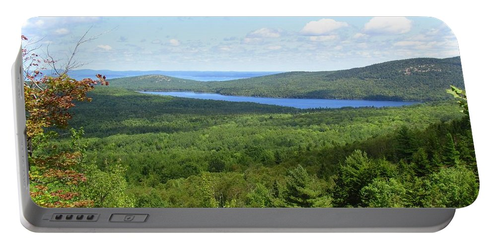 Water Portable Battery Charger featuring the photograph Bird's Eye View Of Eagle Lake by Elizabeth Dow