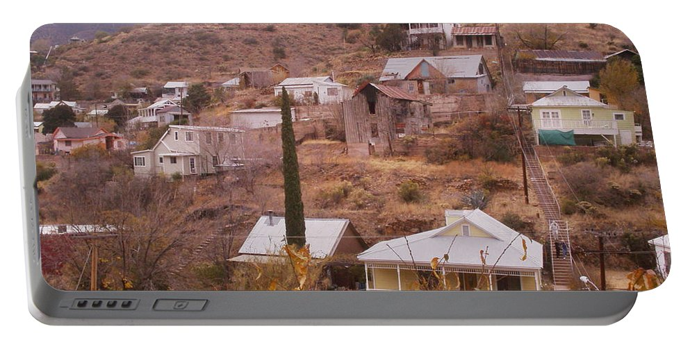 Bisbee Portable Battery Charger featuring the photograph Bisbee by David S Reynolds
