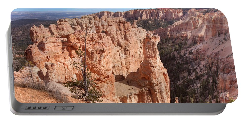Landscape Portable Battery Charger featuring the photograph Black Birch Canyon Lookout by John M Bailey