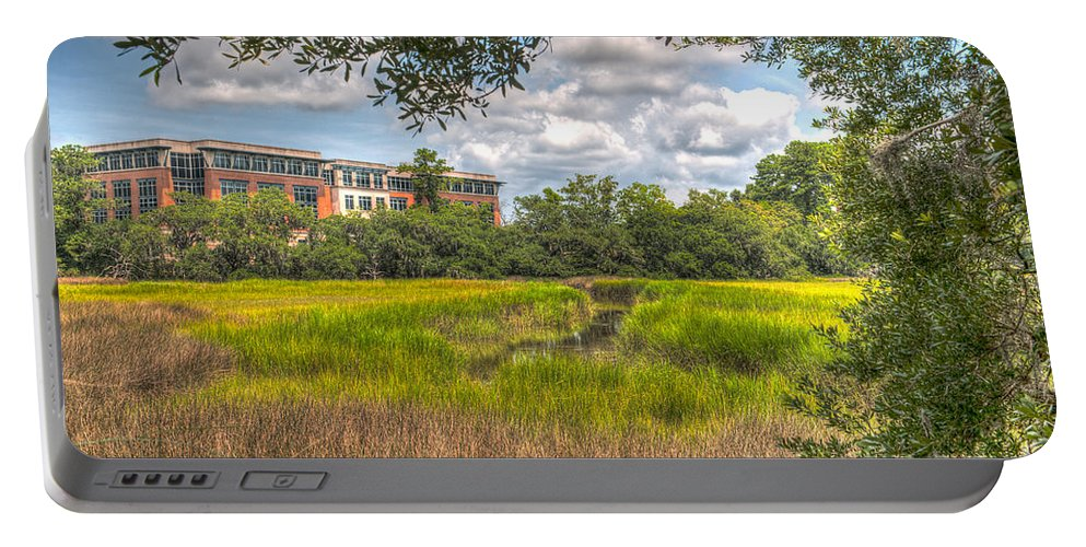 Blackbaud Portable Battery Charger featuring the photograph Blackbaud Corp by Dale Powell
