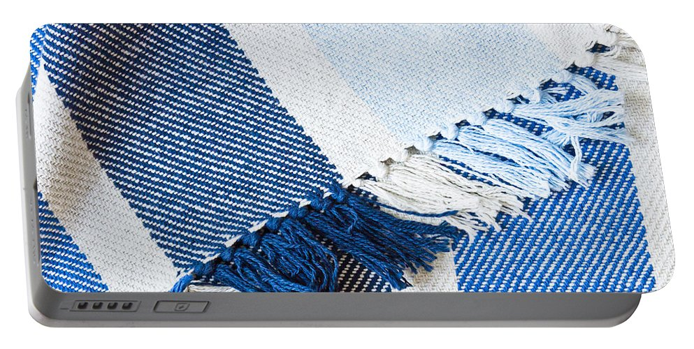 Background Portable Battery Charger featuring the photograph Blanket by Tom Gowanlock
