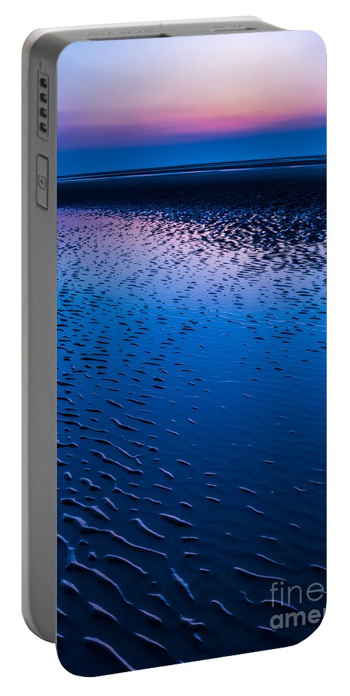 Bay Portable Battery Charger featuring the photograph Blue Hour by Adrian Evans