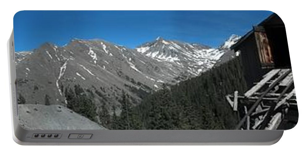 Mill Portable Battery Charger featuring the photograph Blue Sky by Jennifer Lavigne