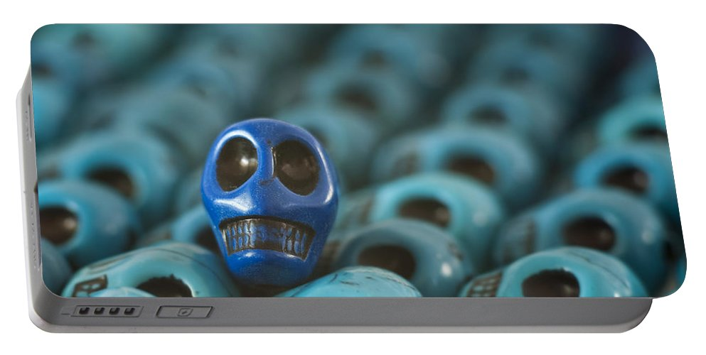Smiles Portable Battery Charger featuring the photograph Blue Smile by Mike Herdering